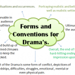 Conventions of Drama-Drama's
